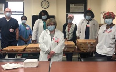 Clariti Health Provides Lunch for Maimonides Medical Center